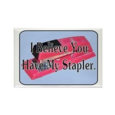 Cute Stapler Rectangle Magnet