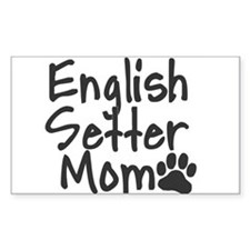 English Setter MOM Decal