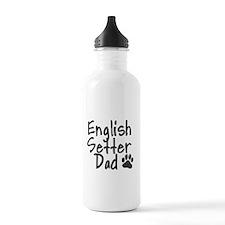 English Setter DAD Water Bottle