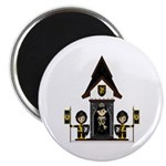 "Princess and Black Knights 2.25"" Magnet (100"