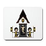 Princess and Black Knights Mousepad