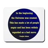 Unique Hitchhikers guide to the galaxy Mousepad