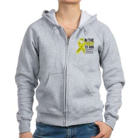 In The Fight Ewing Sarcoma Women's Zip Hoodie