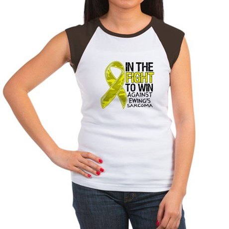 In The Fight Ewing Sarcoma Women's Cap Sleeve T-Sh