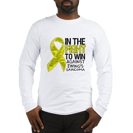 In The Fight Ewing Sarcoma Long Sleeve T-Shirt