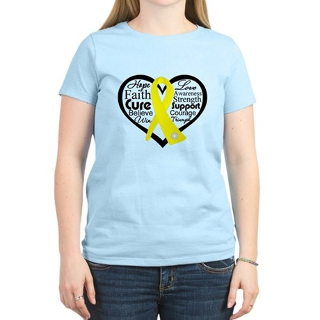Ewing Sarcoma Women's Light T-Shirt