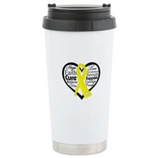 Ewing Sarcoma Ceramic Travel Mug