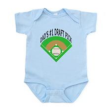 Kids Baseball Infant Bodysuit