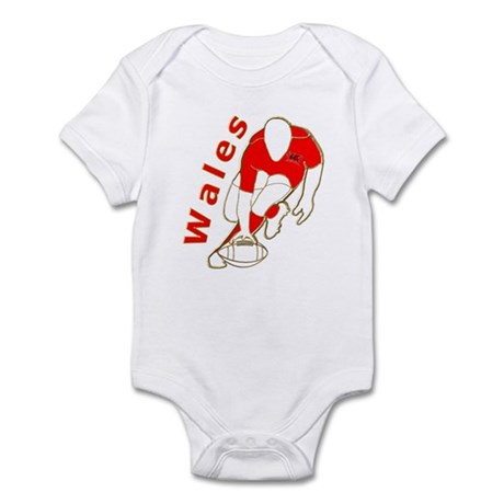 Wales Rugby Designed Infant Bodysuit