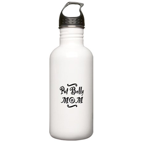 Pot Belly MOM Stainless Water Bottle 1.0L