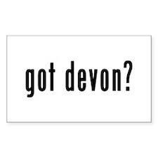 GOT DEVON Decal