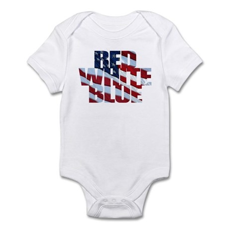 Flag colors Infant Creeper