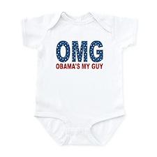 OMG Obama's My Guy Infant Bodysuit