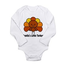 Cute First thanksgiving Long Sleeve Infant Bodysuit