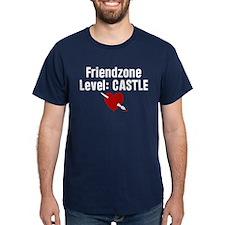 Friendzone Level Castle Dark T-Shirt
