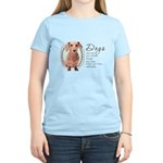 Dogs Make Lives Whole -Dachshund Women's Light T-S