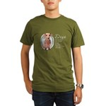 Dogs Make Lives Whole -Dachshund Organic Men's T-S