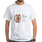 Dogs Make Lives Whole -Dachshund White T-Shirt