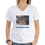The Schubot Center/Rita Women's V-Neck T-Shirt