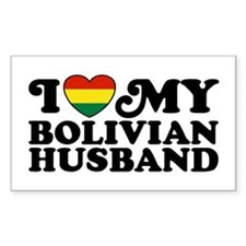 Bolivian Husband Decal