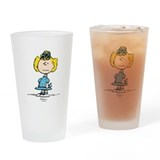 Sally Brown Drinking Glass