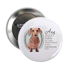 "Dachshund Mom 2.25"" Button (10 pack)"
