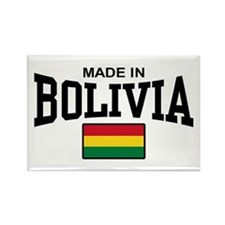 Made In Bolivia Rectangle Magnet