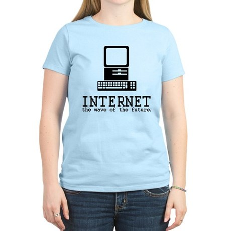 Internet Womens Light T-Shirt