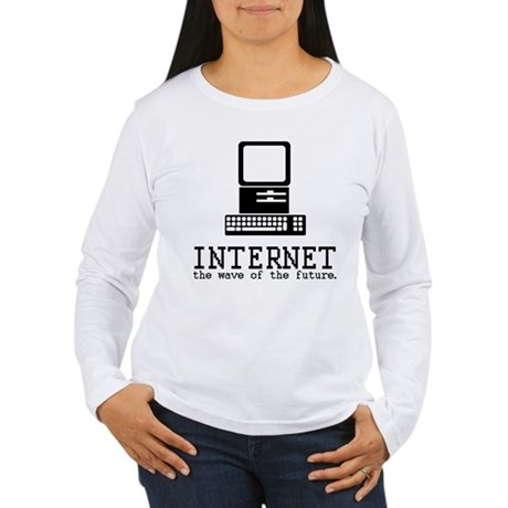 Internet Womens Long Sleeve T-Shirt