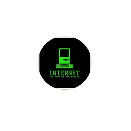 Internet Mini Button