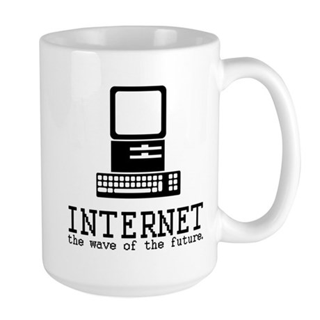 Internet Large Mug