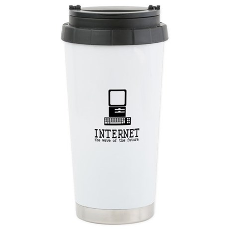 Internet Ceramic Travel Mug