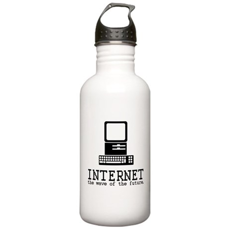 Internet Stainless Water Bottle 1L