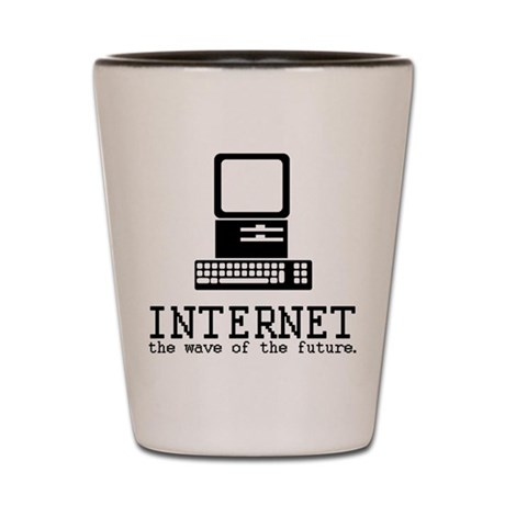 Internet Shot Glass