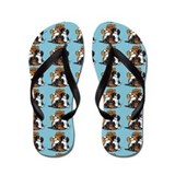 CKCS 2nd Generation Blue Flip Flops