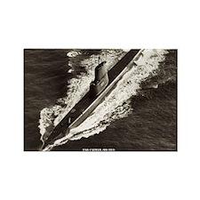 USS CAIMAN Rectangle Magnet