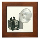 The Brownie Hawkeye Flash Model Framed Tile