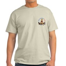 Airedales Rule Pocket T-Shirt