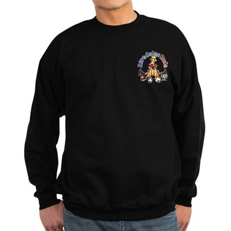 Airedales Rule Pocket Sweatshirt (dark)