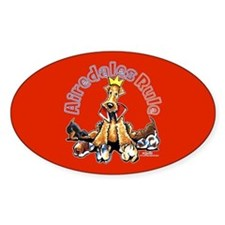 Airedales Rule Decal