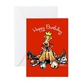 Airedales Rule Greeting Card