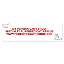 SPCR Persian Bumper Bumper Sticker