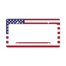 US Flag License Plate Holder