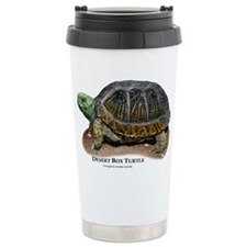 Desert Box Turtle Ceramic Travel Mug