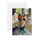 Degas - Class Greeting Cards (Pk of 10)