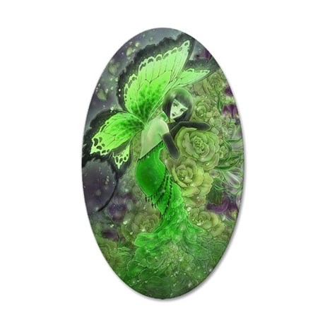 Absinthe Fairy 22x14 Oval Wall Peel