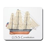U.S.S. Constitution Mousepad