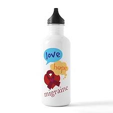 Love Hope Migraine Water Bottle