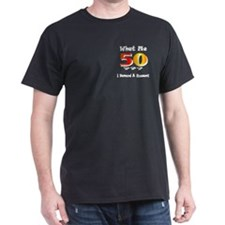 50th Birthday Black T-Shirt