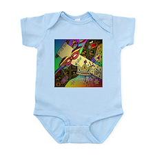 Happy Purim Infant Bodysuit